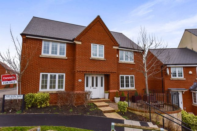 Thumbnail Detached house for sale in Nelson Way, Yeovil