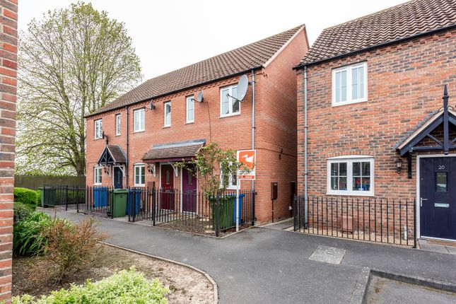 Thumbnail 2 bed semi-detached house for sale in The Paddock, Kirton, Boston