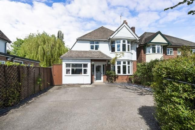 Thumbnail Detached house for sale in Evesham Road, Stratford Upon Avon, Warwickshire