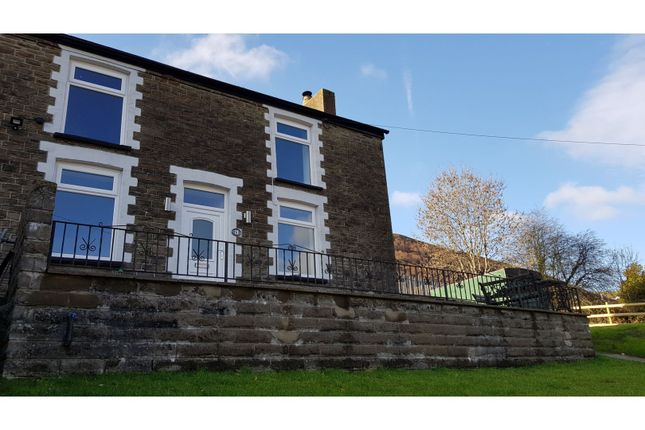 Thumbnail End terrace house for sale in Sunnybank, New Tredegar