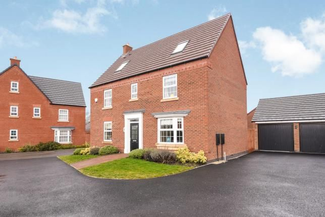 Thumbnail Detached house for sale in Herdwick Drive, Honeybourne, Evesham, Worcestershire