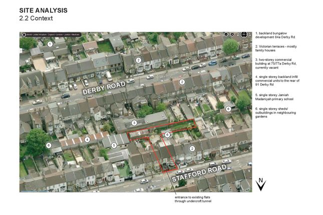 Thumbnail Land for sale in Oyster Mews, Stafford Road, London
