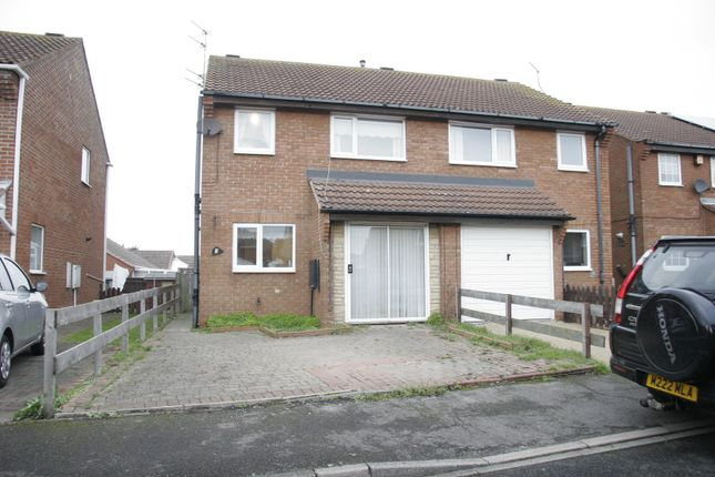 Thumbnail Semi-detached house for sale in Manor View, Northumberland