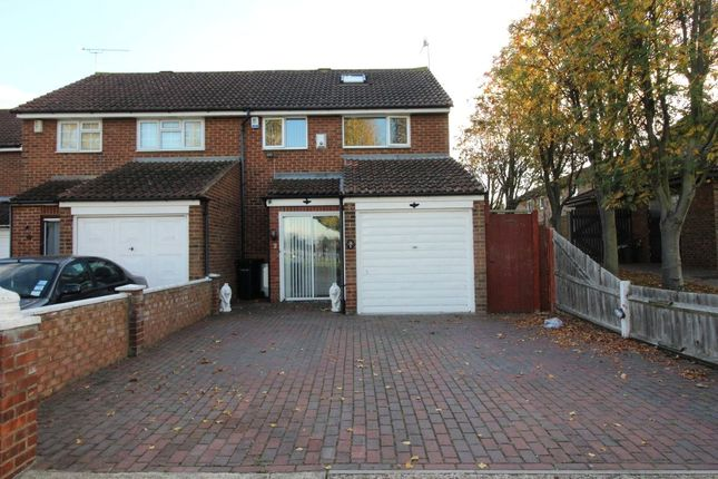 Thumbnail Semi-detached house to rent in Trinity Road, Gravesend, Kent
