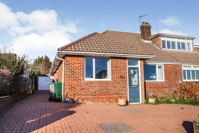 Thumbnail Semi-detached bungalow for sale in Hillside, Portslade, Brighton