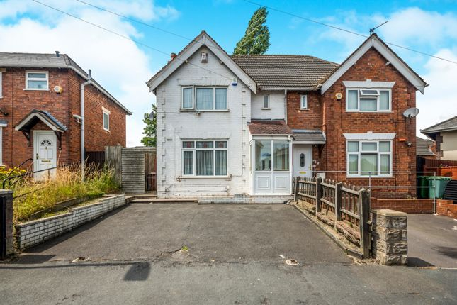 Semi-detached house for sale in Pattison Street, Walsall