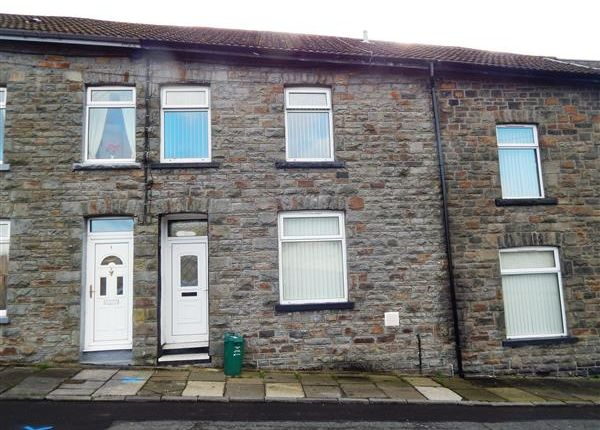 Thumbnail Terraced house to rent in Woodfield Terrace, Pontypridd
