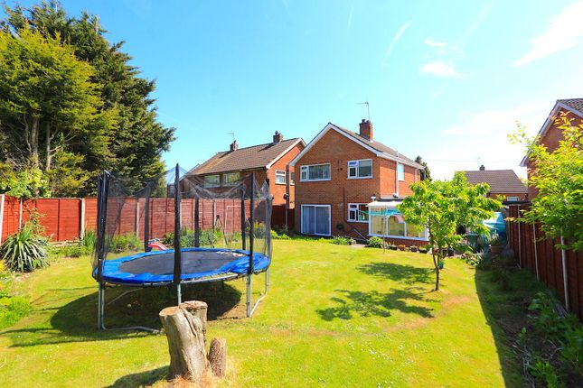 Thumbnail Detached house for sale in Richard Close, Braunstone, Leicester