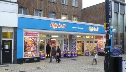 Retail premises to let in High Street, Poole