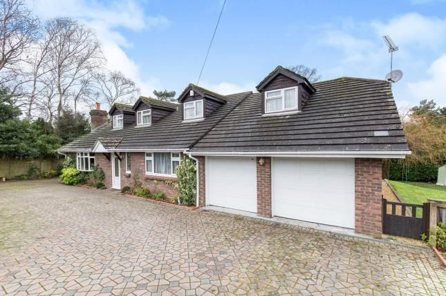 Thumbnail Bungalow for sale in Hill Way, Ashley Heath, Ringwood