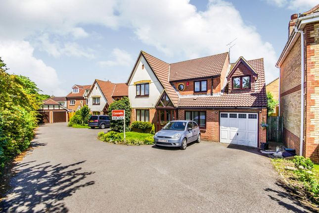 Thumbnail Detached house for sale in Home Field Close, Stapleton, Bristol