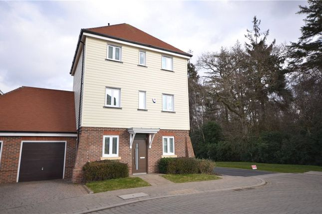 Thumbnail Detached house for sale in Willowbourne, Fleet, Hampshire