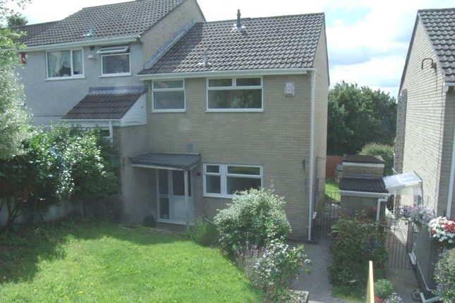 Thumbnail Semi-detached house to rent in Holly Park Drive, Plymouth