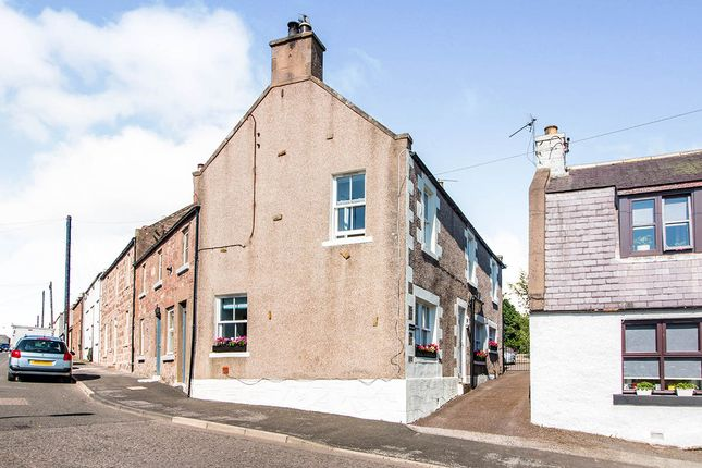 Thumbnail End terrace house for sale in High Street, Auchenblae, Laurencekirk, Aberdeenshire