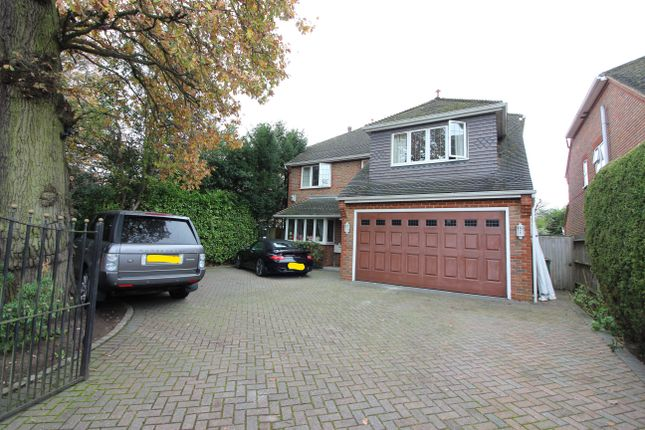 Thumbnail Detached house to rent in Hersham Road, Walton-On-Thames