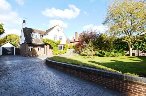 Thumbnail Detached house for sale in Waverley Road, Farnborough, Hampshire
