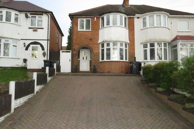 Thumbnail Semi-detached house for sale in Warren Hill Road, Kingstanding, Birmingham