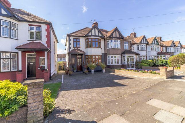 Thumbnail Semi-detached house for sale in Bury Street West, Winchmore Hill Boarders, London, London