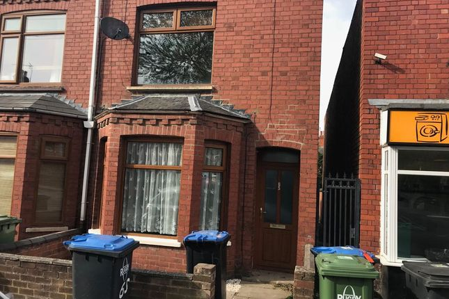 Thumbnail End terrace house to rent in Craven Road, Rugby