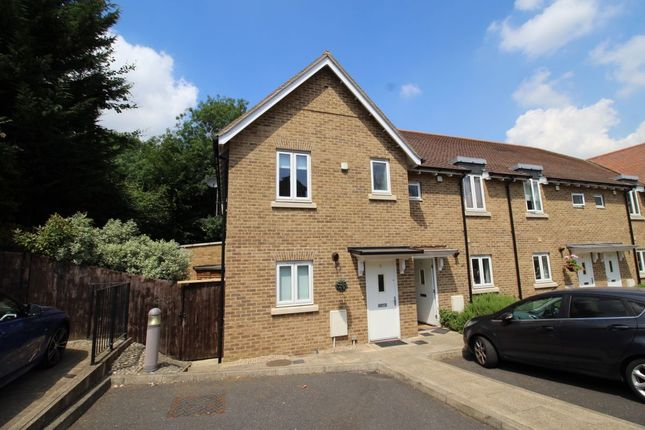 Thumbnail Terraced house to rent in King Johns Place Egham Hill, Egham