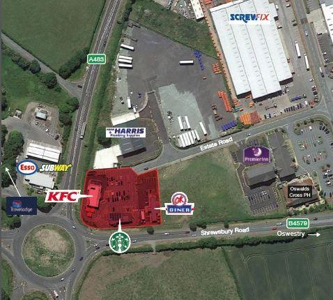 Thumbnail Commercial property for sale in Oswestry Gateway, Mile End Roundabout, Maes-Y-Clawdd, Oswestry, Shropshire