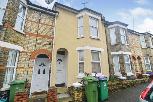 Thumbnail Terraced house for sale in Walton Road, Folkestone, Kent