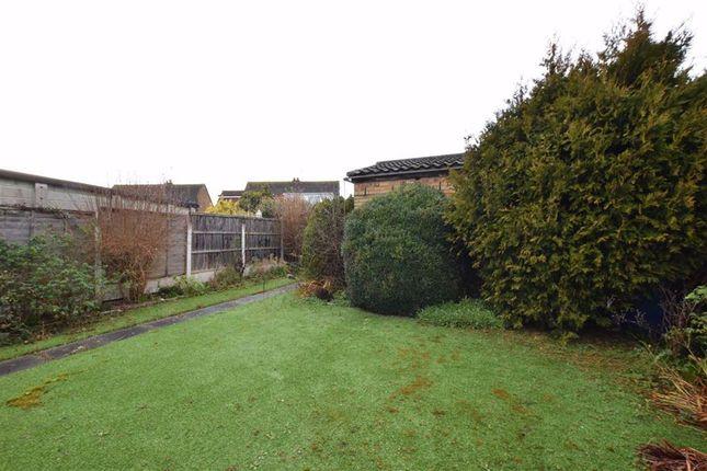 Rear Garden of Goldsmiths Avenue, Corringham, Essex SS17