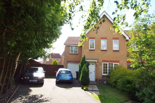 Thumbnail Semi-detached house for sale in Kingfisher Road, Attleborough