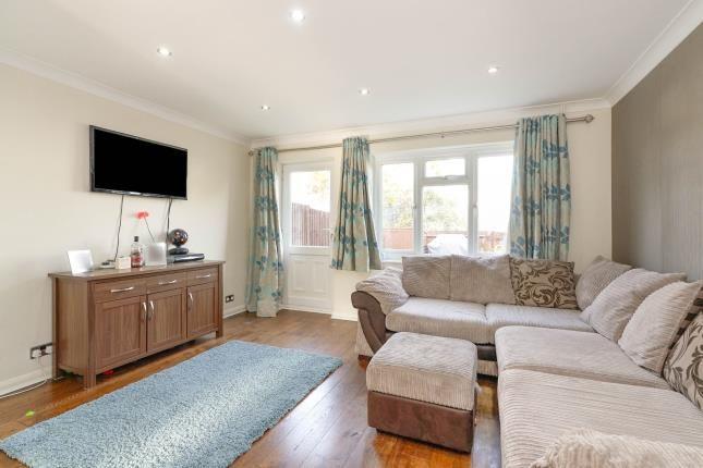 Living Room of Foxglove Lane, Chessington, Surrey, . KT9