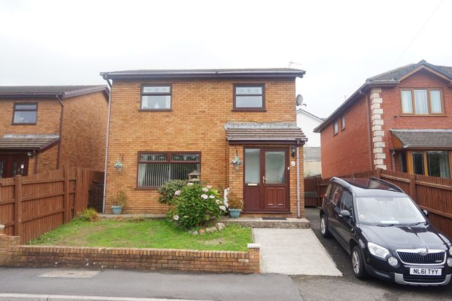 Thumbnail Detached house for sale in Julian Heights, Fleur De Lis, Blackwood