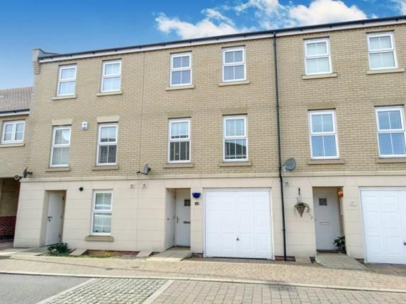 Thumbnail Town house for sale in Mortimer Way, Witham