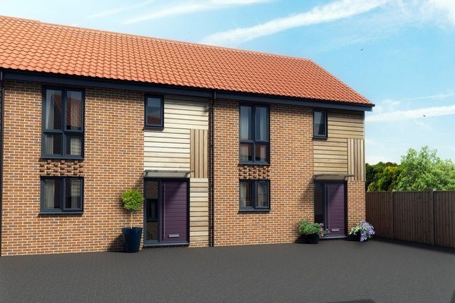 Thumbnail Semi-detached house for sale in Whooper Close, Long Stratton, Norwich