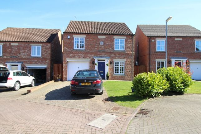 Thumbnail Detached house for sale in Manor Garth, Fridaythorpe, Driffield