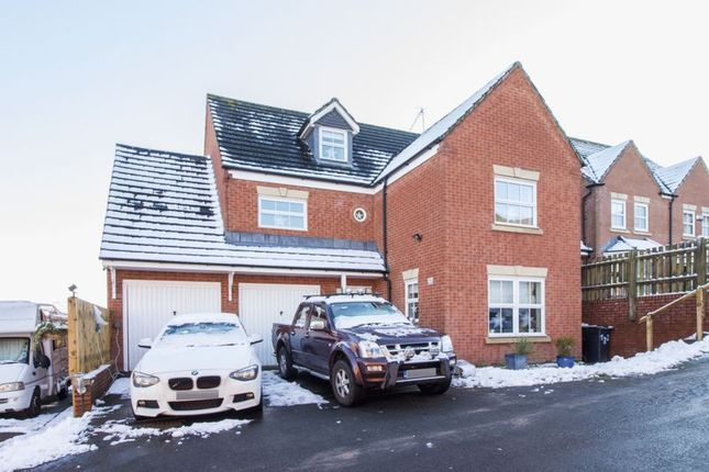 Thumbnail Detached house for sale in Diwedd Camlas, Rogerstone, Newport