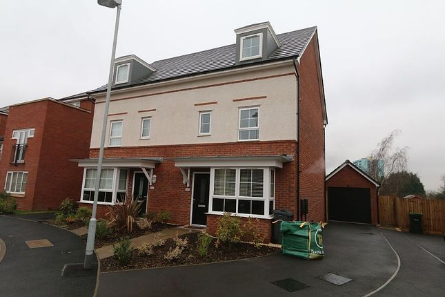 Thumbnail Town house for sale in The Pavilions, West Bromwich, West Midlands