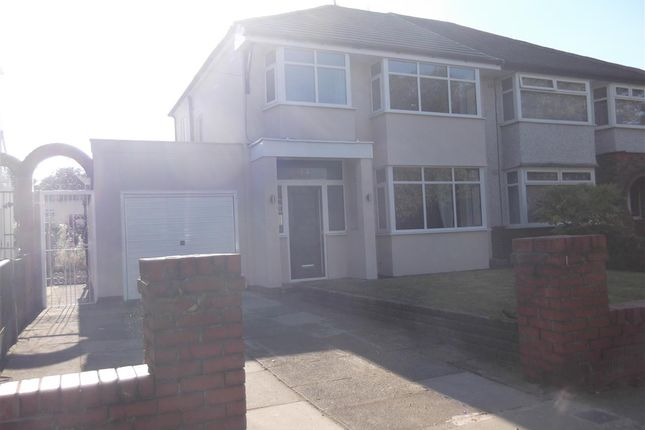 3 bed semi-detached house to rent in Tarbock Road, Huyton, Liverpool