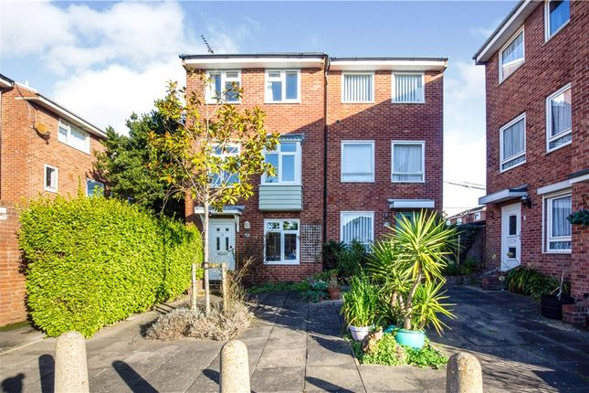 Thumbnail Town house for sale in Nobbs Lane, Portsmouth, Hampshire