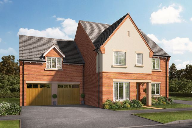 """Thumbnail Detached house for sale in """"The Winterberry"""" at Knightley Road, Gnosall, Stafford"""