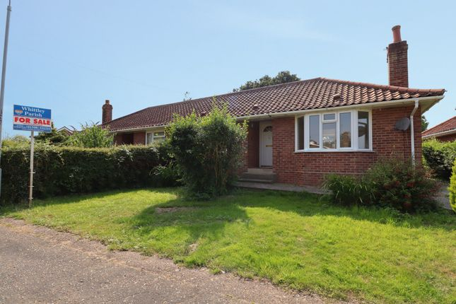 2 bed semi-detached bungalow for sale in Francis Road, Long Stratton, Norwich NR15