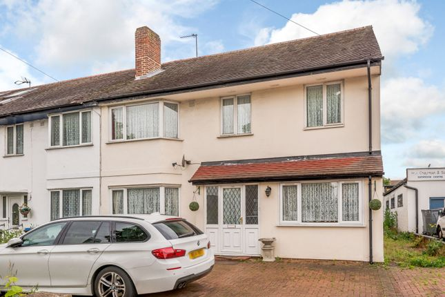 Thumbnail 5 bedroom end terrace house for sale in Chase Side, Enfield