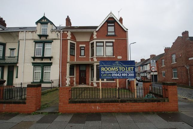 Thumbnail Terraced house to rent in Southfield Road, Middlesbrough