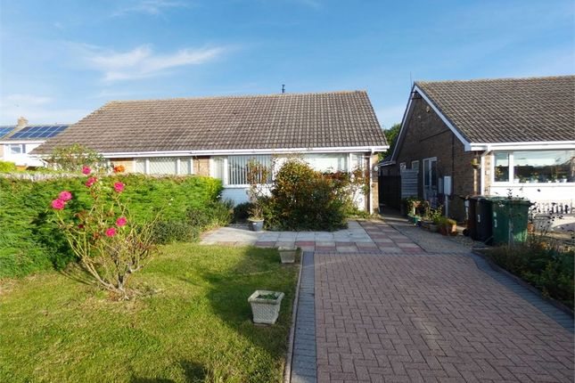 Thumbnail Semi-detached bungalow for sale in Stockholm Close, Corby, Northamptonshire
