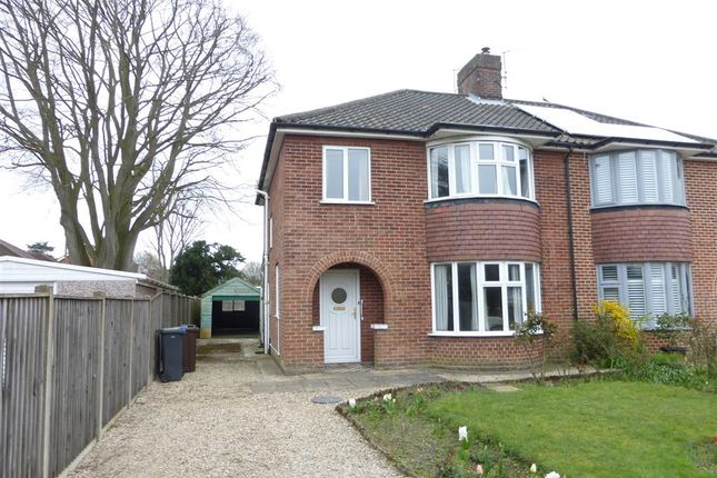 3 bed semi-detached house for sale in Constitution Hill, Norwich NR3