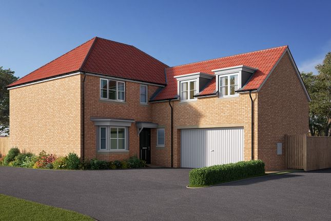 "Thumbnail Detached house for sale in ""The Hemingbrough"" at Station Road, Kirk Hammerton, York, Kirk Hammerton"