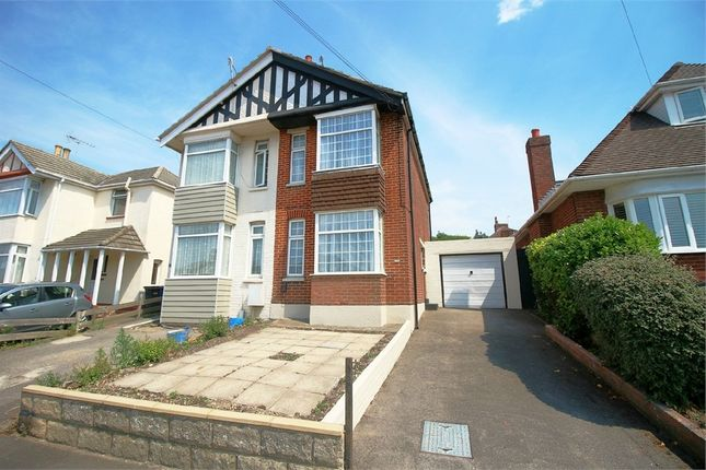 Thumbnail Semi-detached house for sale in Wimborne Road, Poole, Dorset