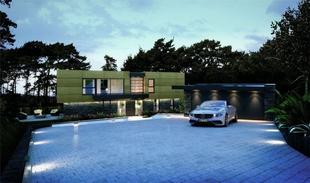 Thumbnail Detached house for sale in La Serena, Imbrecourt, Canford Cliffs, Poole, Dorset