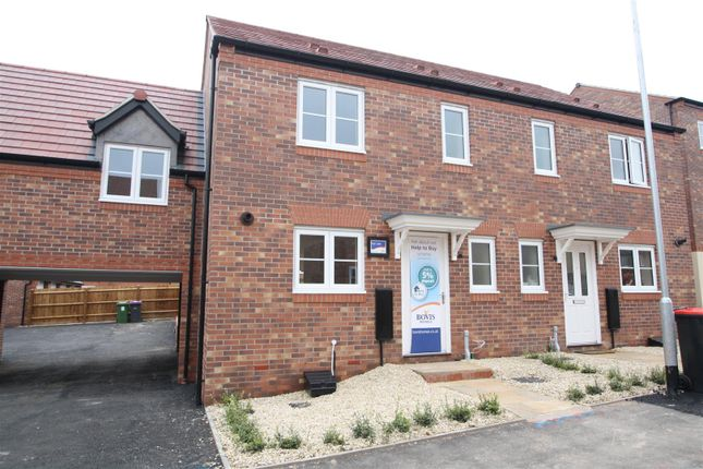 Thumbnail Semi-detached house to rent in Pyrus Court, Hadley, Telford
