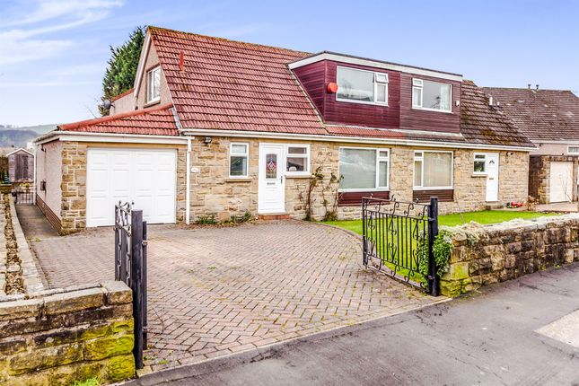 Thumbnail Semi-detached house for sale in Kershaw Drive, Luddendenfoot, Halifax