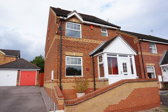 Thumbnail Detached house for sale in Nether Field Way, Thorpe Astley