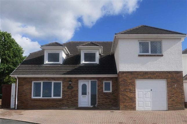 Thumbnail Detached house for sale in Golwg Tywi, Llangunnor, Carmarthen